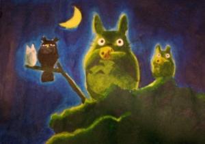 My Totoro Painting
