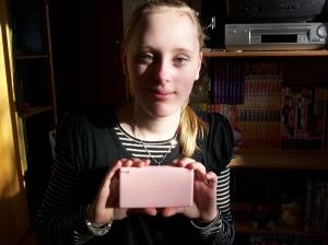 My Nintendo DS lite in pink