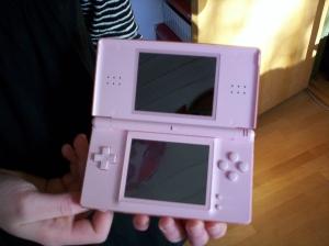 My Nintendo DS lite in pink1