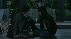 Hurt Tsukasa with Tsukushi