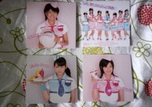Berryz Koubou 4th album - Picture Cards2
