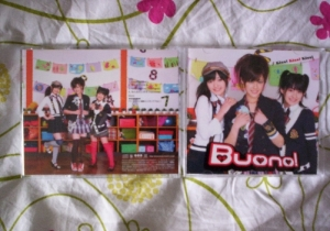 Buono 3rd Single - Front and Back