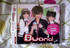 Buono 3rd Single - Cover