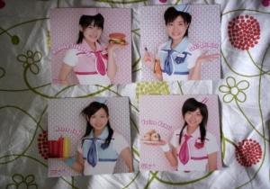 Berryz Koubou 4th album - Picture Cards