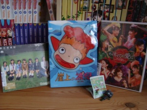 Ponyo DVD + Berryz Concert og CD 001
