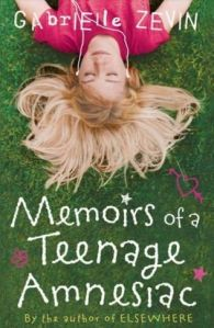 Memoirs of a Teenage Amnesiac - Cover