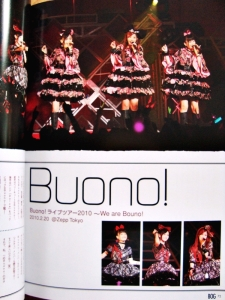 We are Buono! 2010 Tour