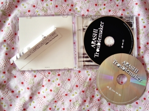 Arashi: Troublemaker CD & DVD