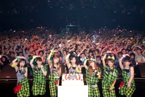 Berryz Koubou 6th Anniversary with audience