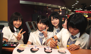 S/mileage signing poster