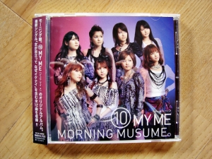 Morning Musume: 10 My Me (album) Cover