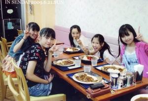 Reni, Akari, Kanako, Shiori and Ayaka