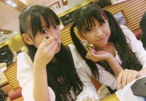 Reni and Shiori