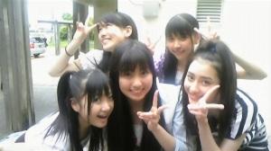 Momoka, Reni, Ayaka, Shiori and Akari
