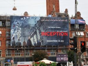 Inception poster by Rådhuspladsen