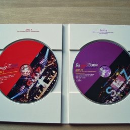 inside case with discs