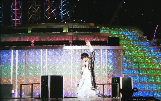 "Shori was the last to leave the scene and was kind enough to say: ""be careful going home"" to his fans. Love him!"