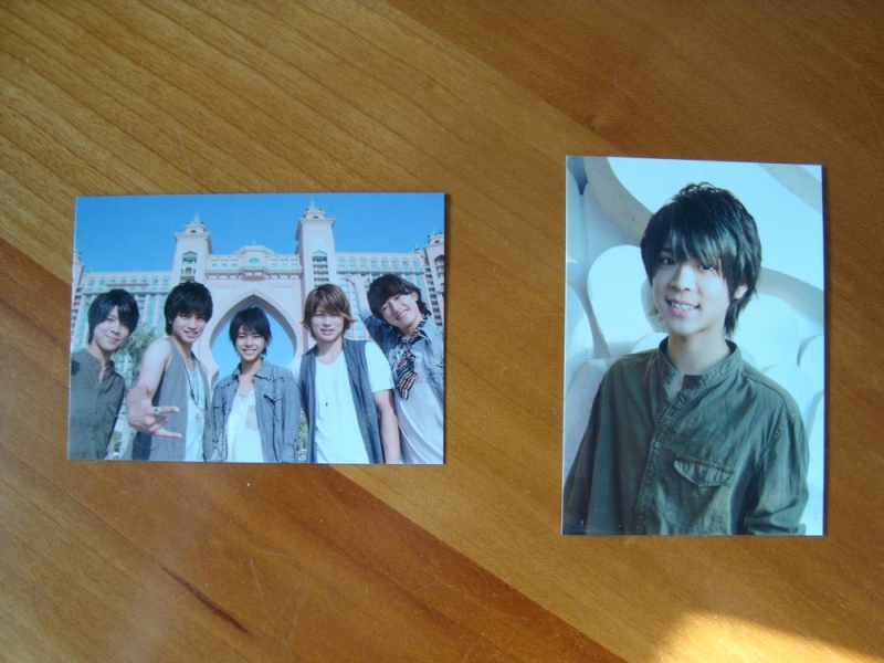 Photo cards (group + Matsushima So)